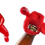 Mexican wrestler bottle openers photo