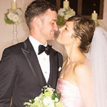 The Justin Timberlake and Jessica Biel`s wedding wine photo
