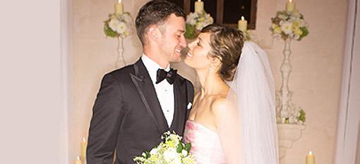 The Justin Timberlake and Jessica Biel`s wedding wine photo