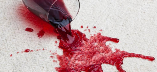 How to remove red wine from your carpet photo