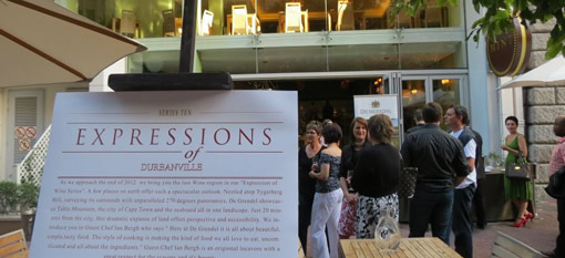 Taj Expression Series draws to a close with the wines of Durbanville photo