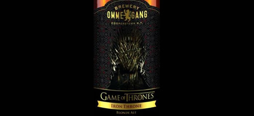 Belgian brew house releasing 'Game of Thrones' beer photo