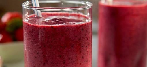 Pomegranate and Grape Smoothie photo