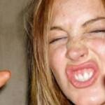 Does Lindsay Lohan really drink two liters of vodka a day? photo