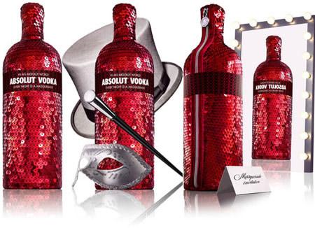 absolute vodka The World`s Coolest Liquor Bottles
