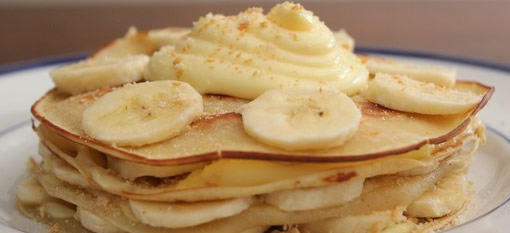 Decadent Banana Cream Crepes photo
