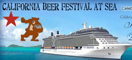 Cruise Ship Offering a Beer Festival at Sea photo