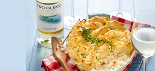 Classic creamy fish pie photo