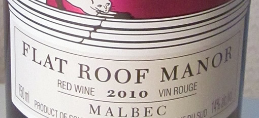 A taste of Flat Roof Manor Malbec photo