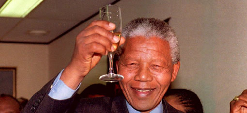 Nelson Mandela is quite picky when it comes to wine photo