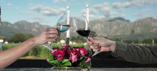 Romancing in the colour of red at Nederburg this Valentine`s Day photo
