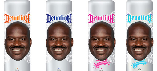 Shaquille O`Neal gets his own branded Vodka photo