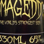 The World`s Strongest Beer, coming in at 65% ABV photo
