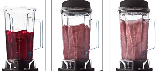 Does putting wine into a blender make it taste better? photo