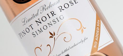New Simonsig Pinot Noir Brut Rosé vintage with no added sulphur photo