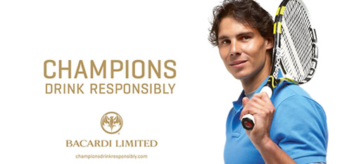 Rafael Nadal joins Bacardi`s responsible drinking campaign photo