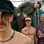 The Red Hot Chili Peppers backstage demands photo