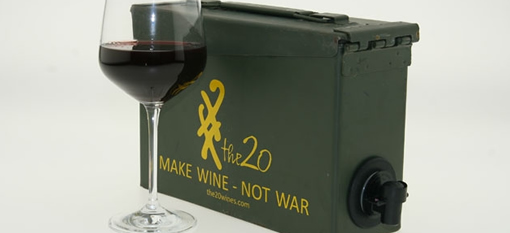 Ammunition Case Box Wine photo