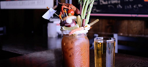 The Craziest Bloody Mary EVER! photo