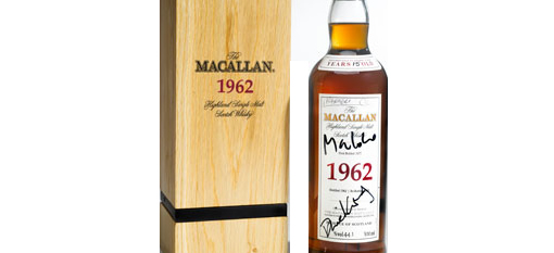 James Bond-signed Macallan 1962 up for auction photo