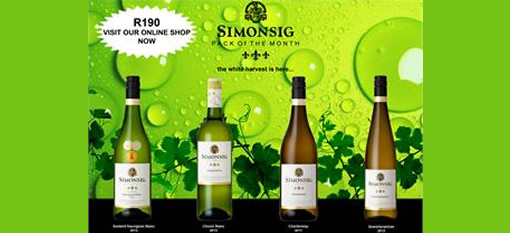 Simonsig Pack of the Month photo