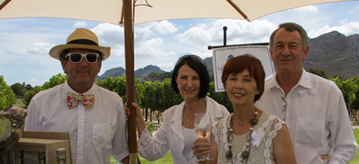 Franschhoek Summer Wines – A Garden Party with a Twist photo