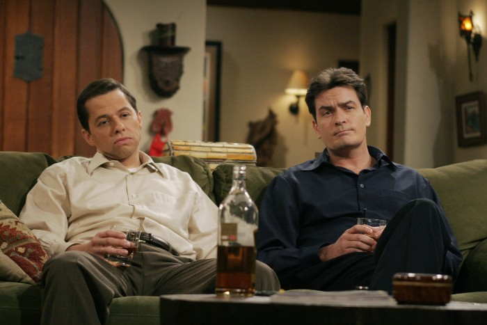 two and a half men 1 The Five Best TV Drunks