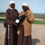 Nuns From Uganda Making Wine on Weltevrede photo
