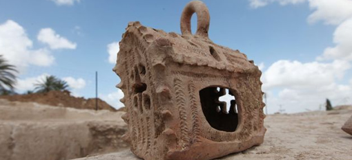 Archaeologists discover 1,500-year-old Byzantine wine press photo