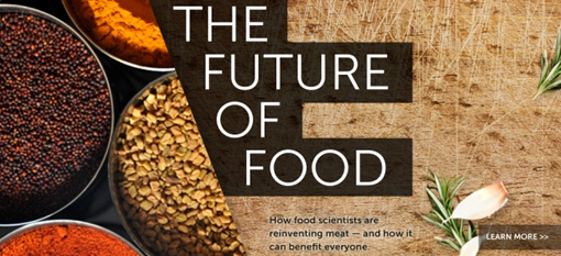 What Bill Gates believes is the future of food photo