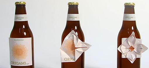 Packaging Spotlight: Origami Beer photo