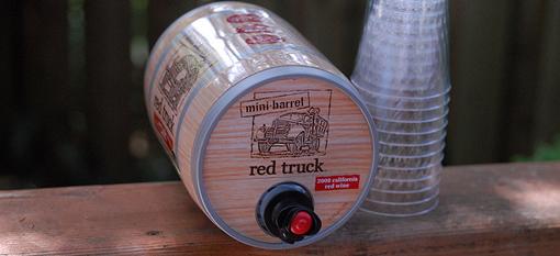 Packaging Spotlight: Red Truck Wine Barrel photo