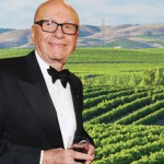 Rupert Murdoch buys a vineyard in Los Angeles photo