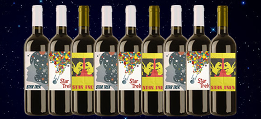 Newly released wines to commemorate the Star Trek series photo