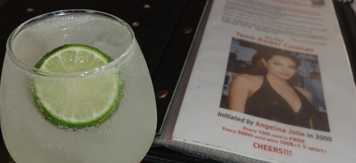 The Tomb Raider Cocktail in honour of Angelina Jolie photo