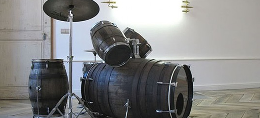 The winemaker`s drum set photo
