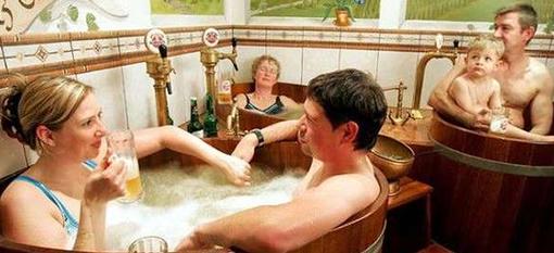Rejuvenating Beer Baths photo