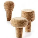 Cork wine stoppers photo