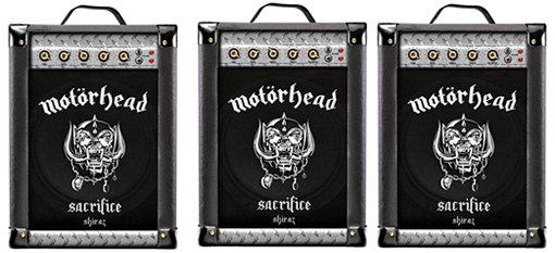 Heavy Metal Band Motörhead releases boxed wine that looks like an amp. photo