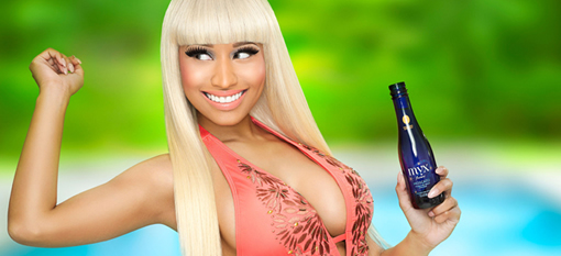"Nicki Minaj Gets Set To ""Revolutionize the Wine Industry"" With Myx Fusions photo"