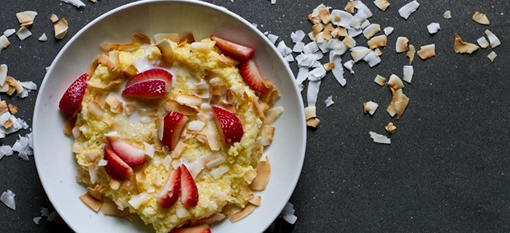 Sick of Morning Oats? Switch to Breakfast Polenta instead! photo