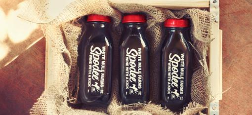 Packaging Spotlight: Wine Packaged in a Milk Bottle photo