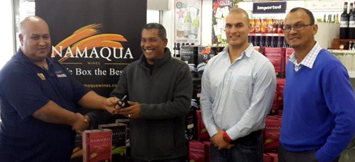 "Winner of the Ultra Liquors and Namaqua Wines ""Win a Car"" Competition announched photo"