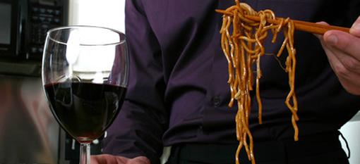 Pairing Wine and Chopsticks photo