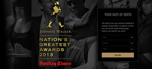 Johnnie Walker and Sunday Times launch the Nation's Greatest Awards photo