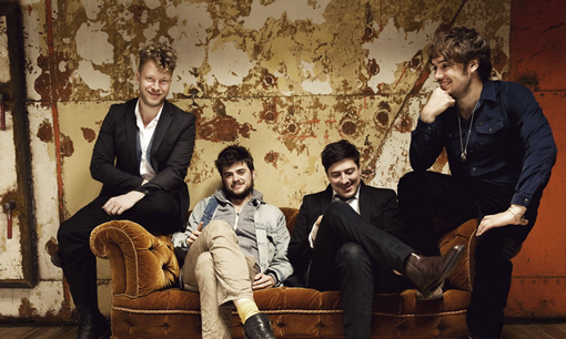 Mumford and Sons Hard at Work on Signature Whiskey photo
