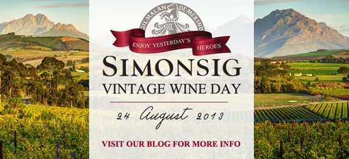 Simonsig Vintage Wine Day showcases rare cellar gems photo
