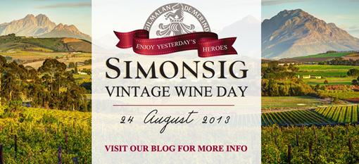 Simonsig Vintage Wine Day showcases rare cellar gems photo