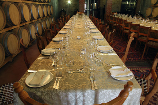 Hartenberg goes underground with Bottelary Hills Winemakers Lunch photo
