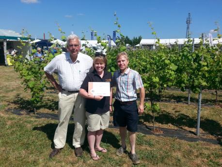 A sparkling future for award-winning Court Garden Vineyard photo